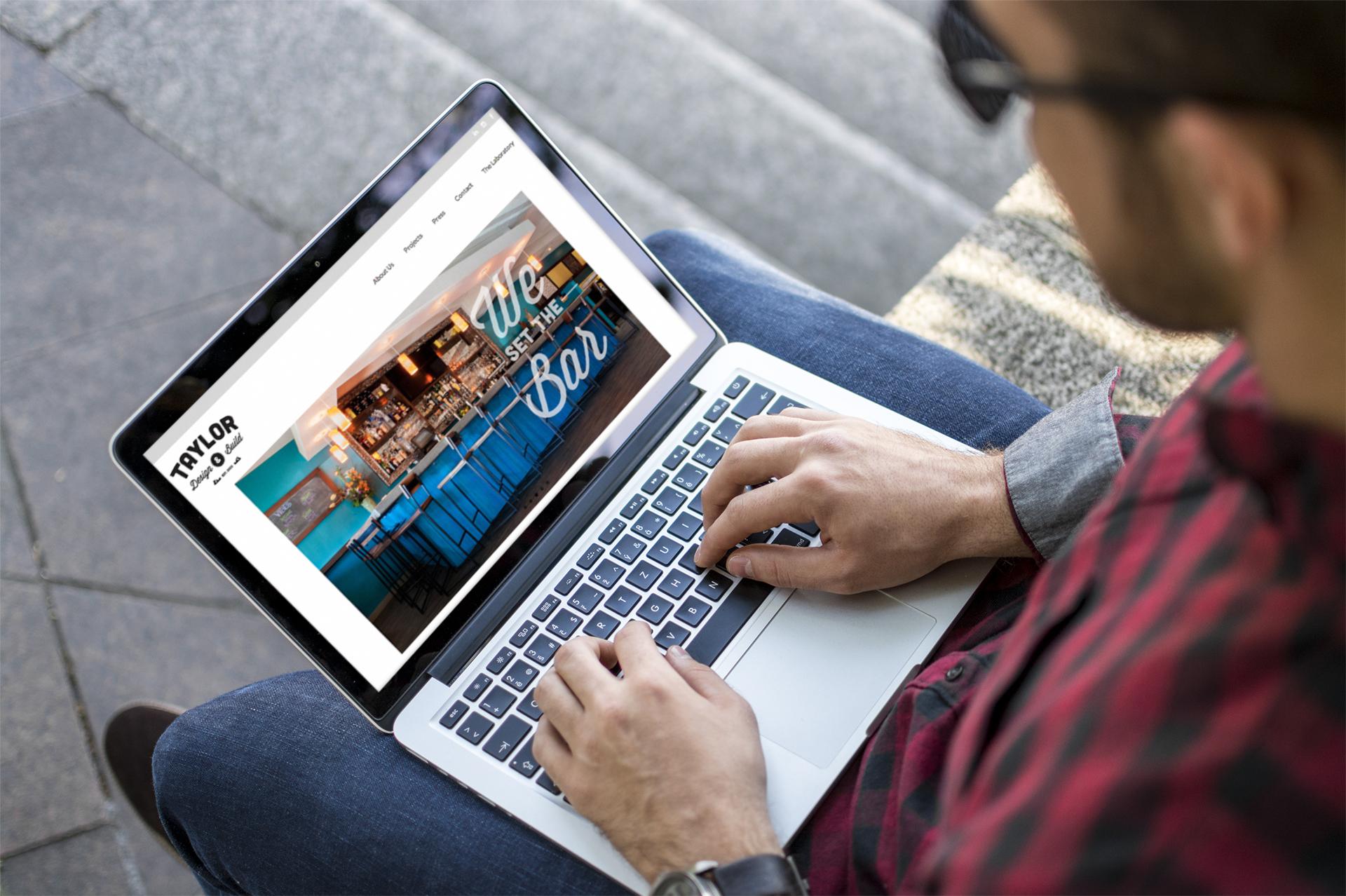 Taylor Design & Build Website