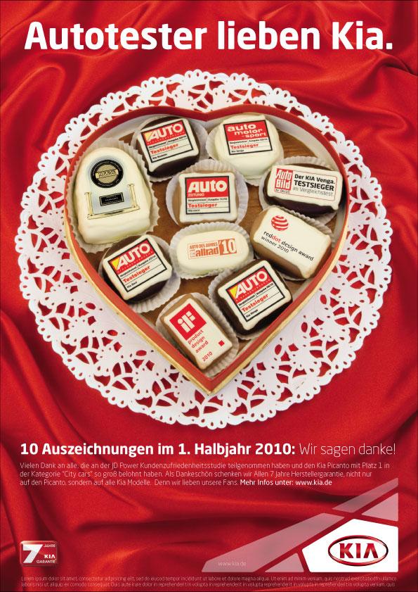 Photography for KIA Motors Germany