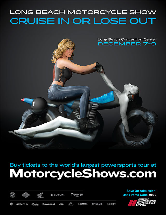 Photography for International Motorcycle Shows