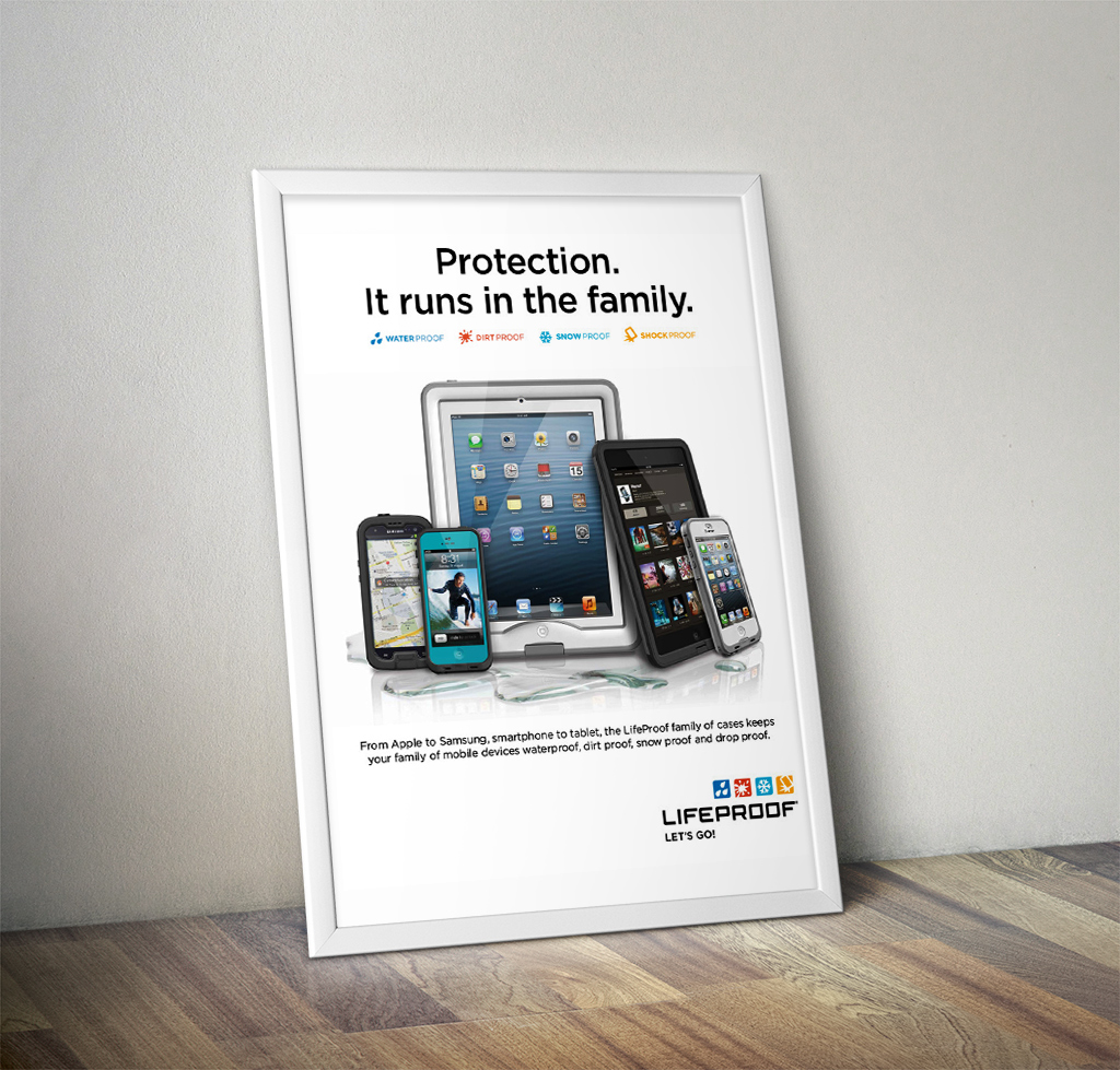 LifeProof BestBuy Point of Purchase Signage