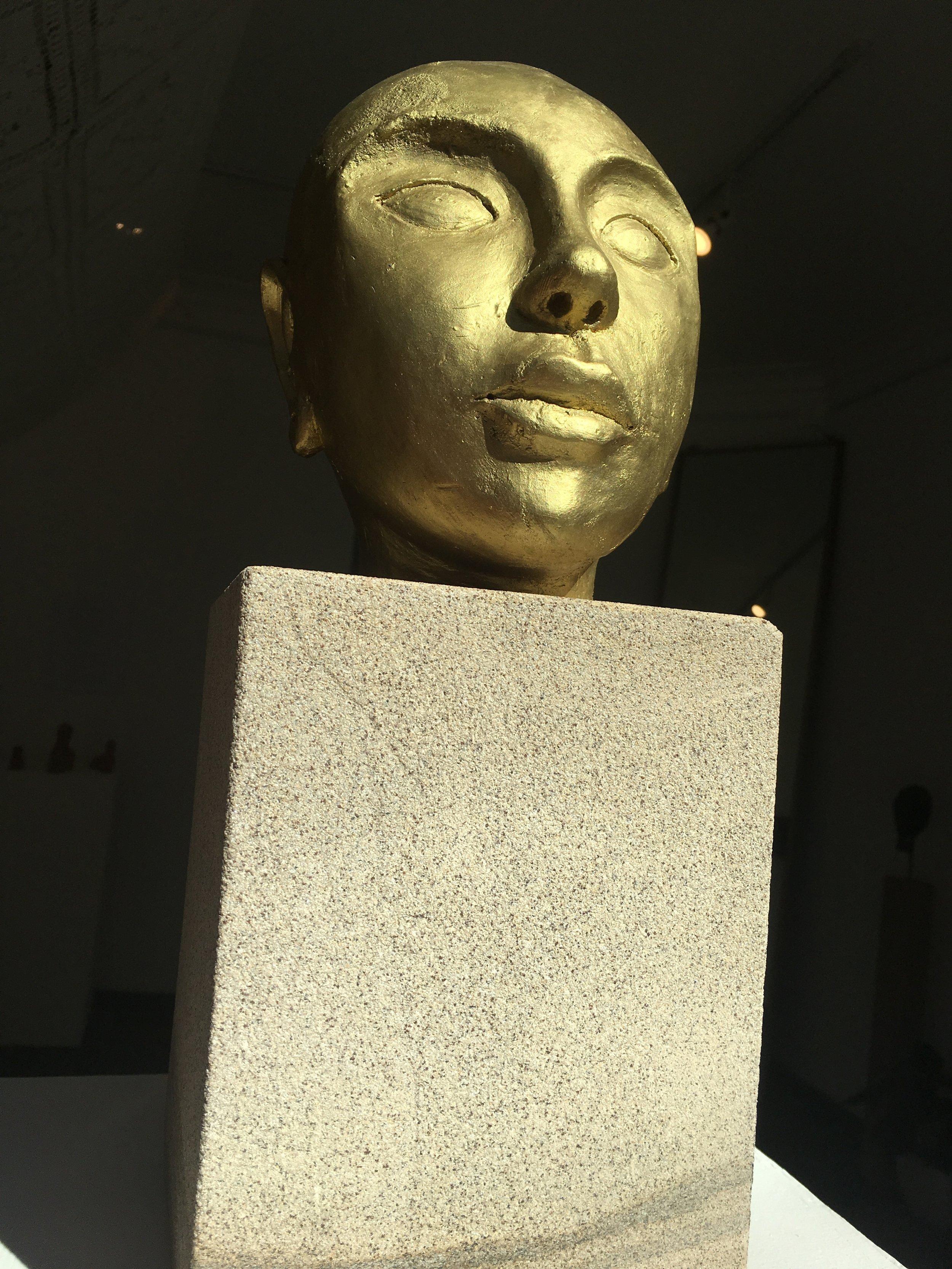 Mestiço, ceramic, sandstone, Atelier Jotace, Lençois, Minas Gerais, $ 720.00