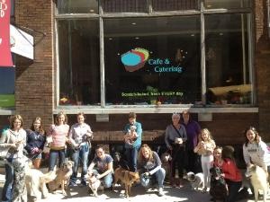 Bone Appetit Dog Friendly Food Tour hosted during National Dog Week.
