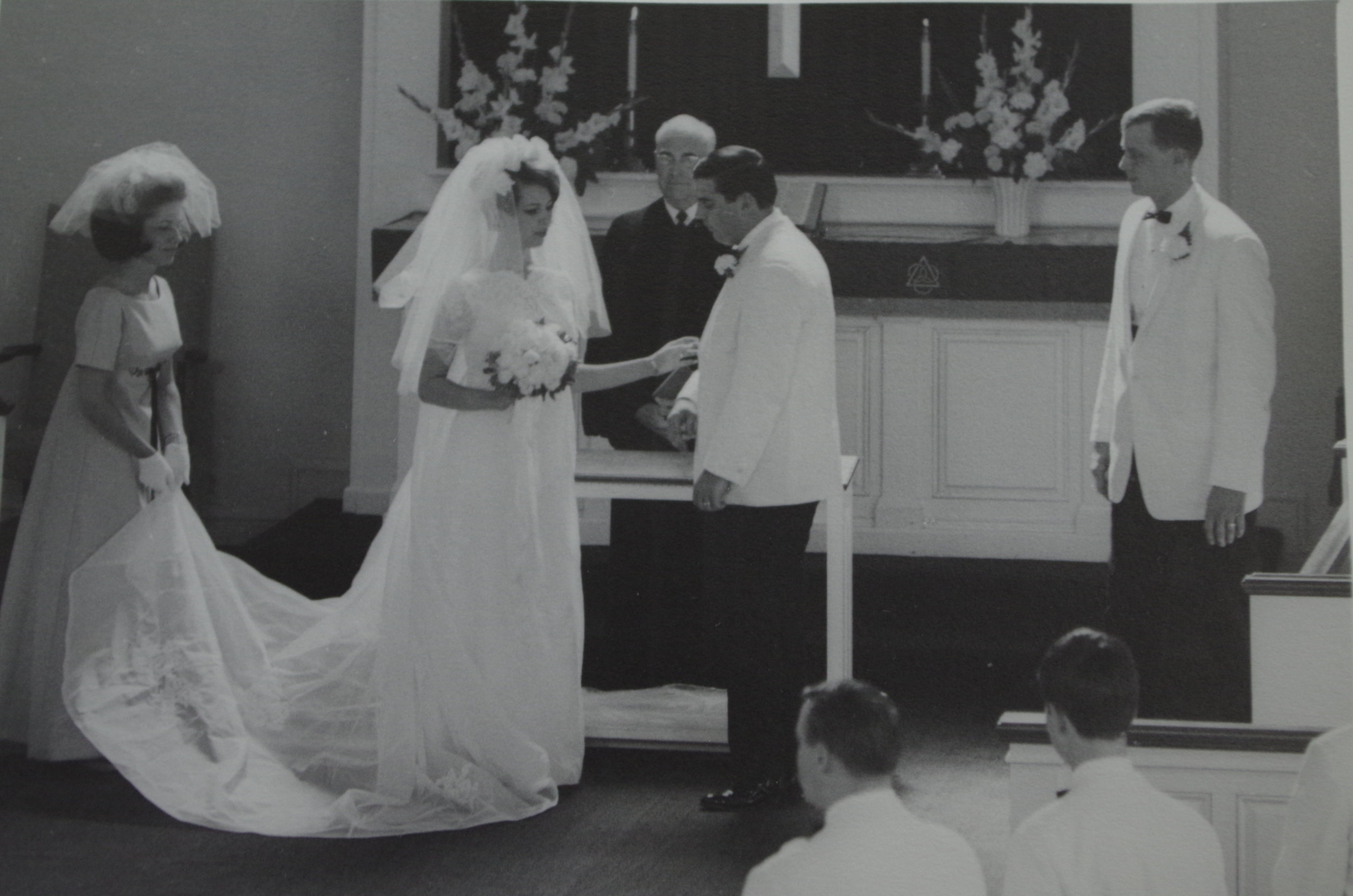 Jill and Peter's Milwaukee Wedding Day, July 1967
