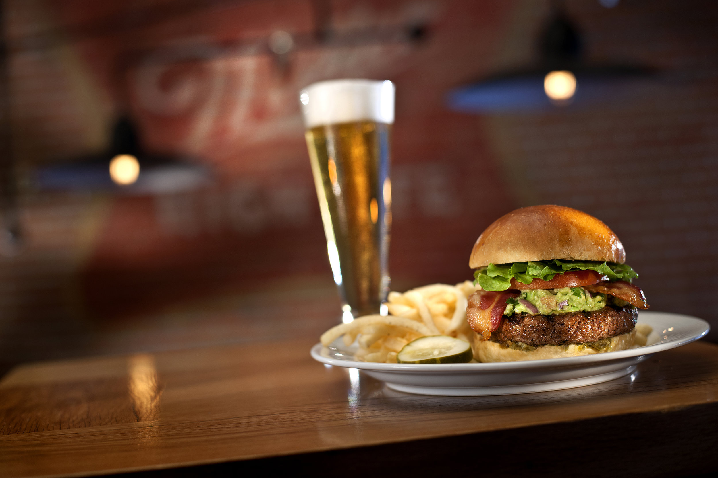 Miller Time Pub is open daily from 11 am - 1 am and offers authentic Milwaukee-brewed Miller Beer along with a delicious menu.