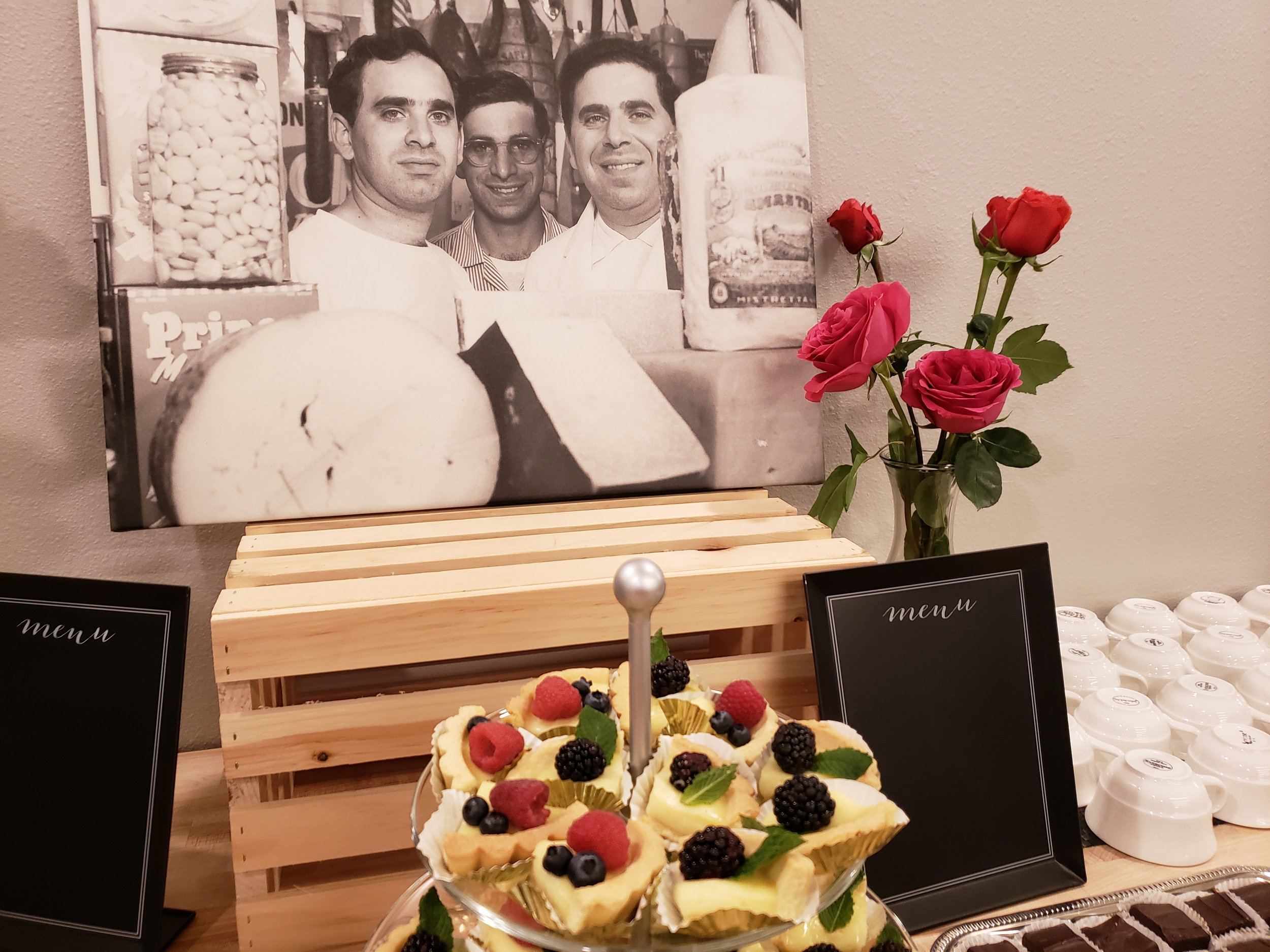 It was Valentine's Day n 1946, that the three Glorioso brothers opened an Italian grocery business on Brady Street.