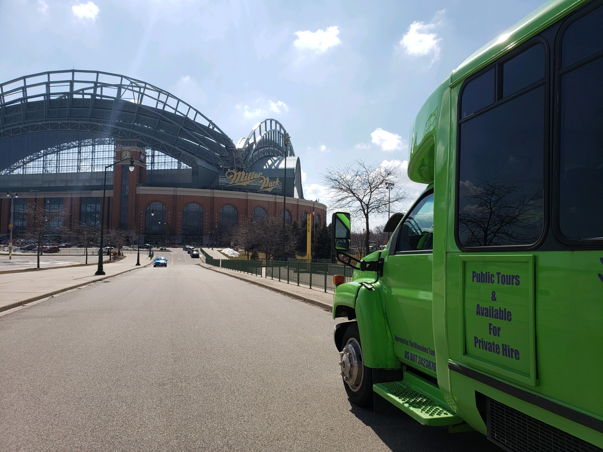 If you need to rent a shuttle bus to get your next corporate team, birthday party or Bachelor party to a game at Miller Park or Fiserv Forum, Milwaukee Food & City Tours is available for hire.