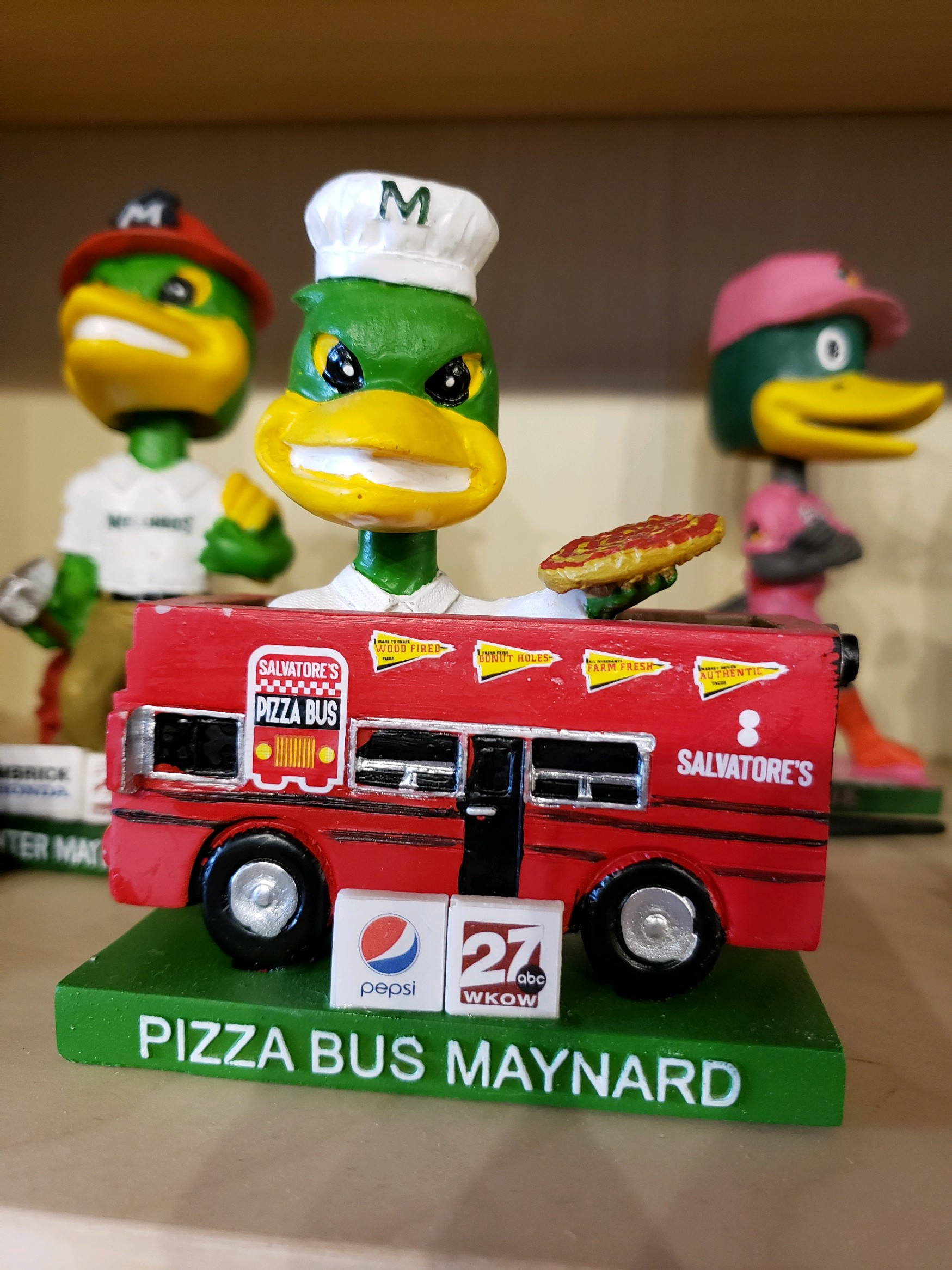 Really Maynard? I think there is only room for one Pizza Bus in this town!