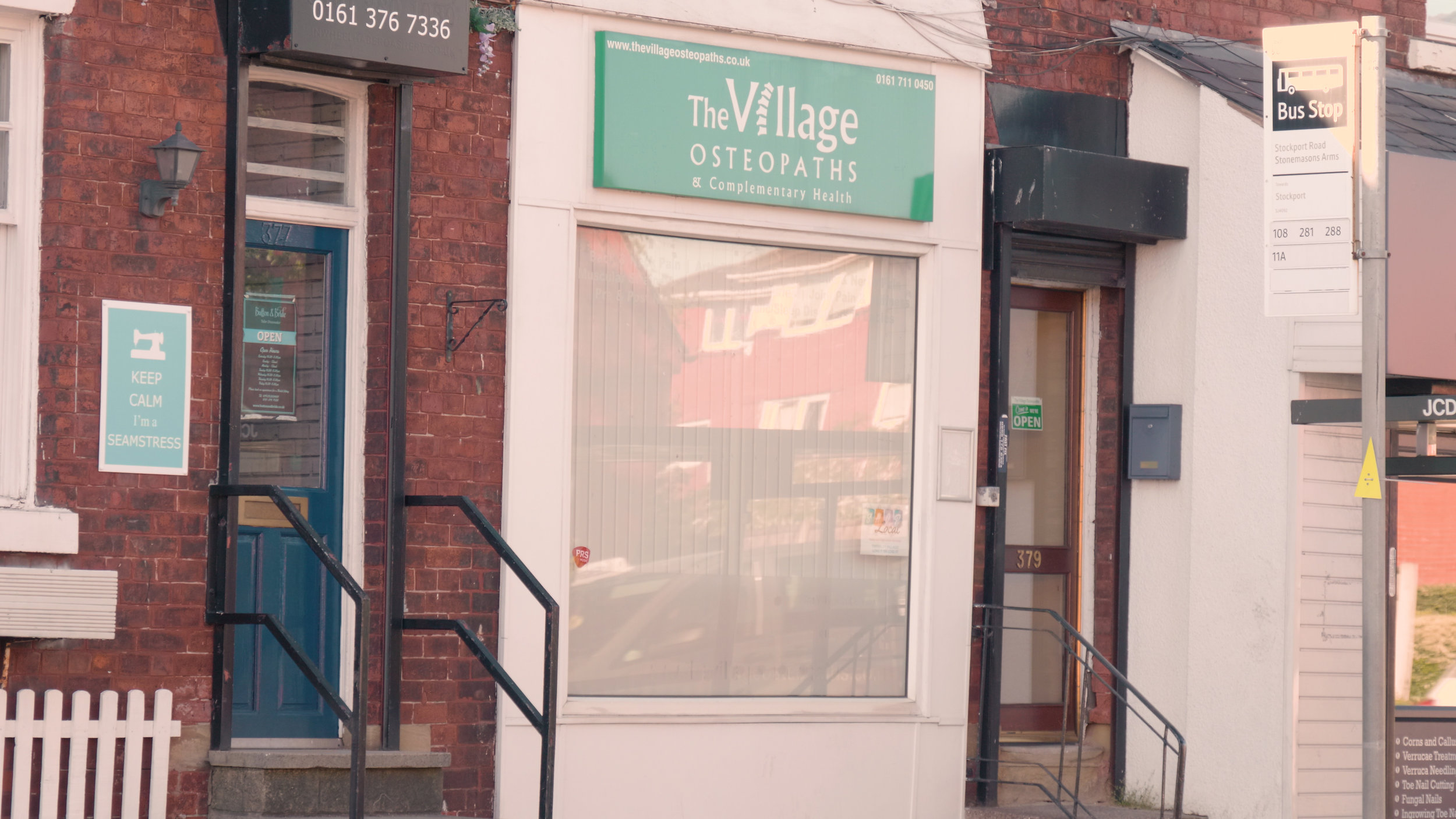 Address - 379 Stockport RoadTimperley VillageCheshireWA15 7UR