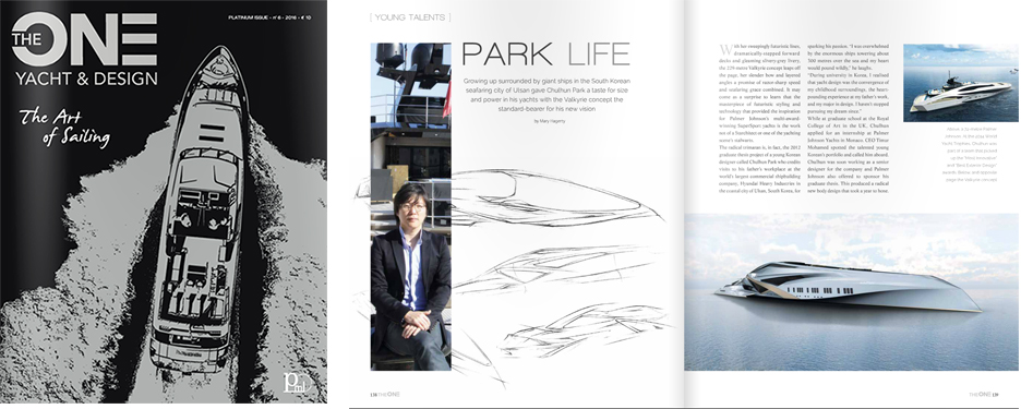 "Issue #6 of The ONE Yacht & Design - ""PARK LIFE"""