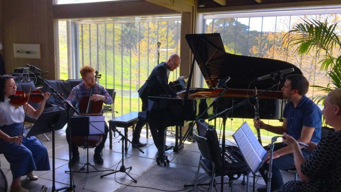 Syzygy Ensemble at Macedon Music