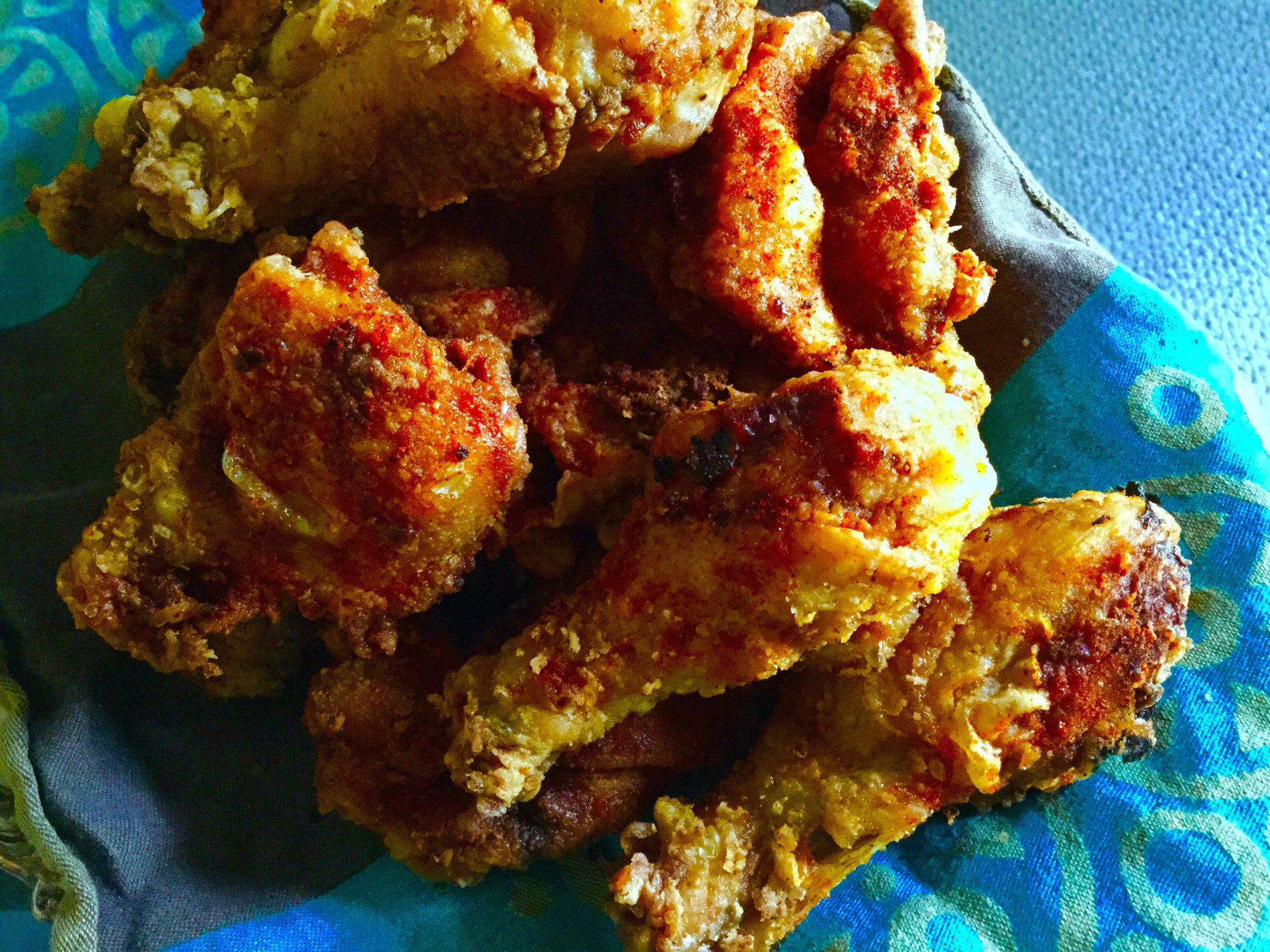 Mariby Corpening's Peruvian-Spiced Fried Chicken