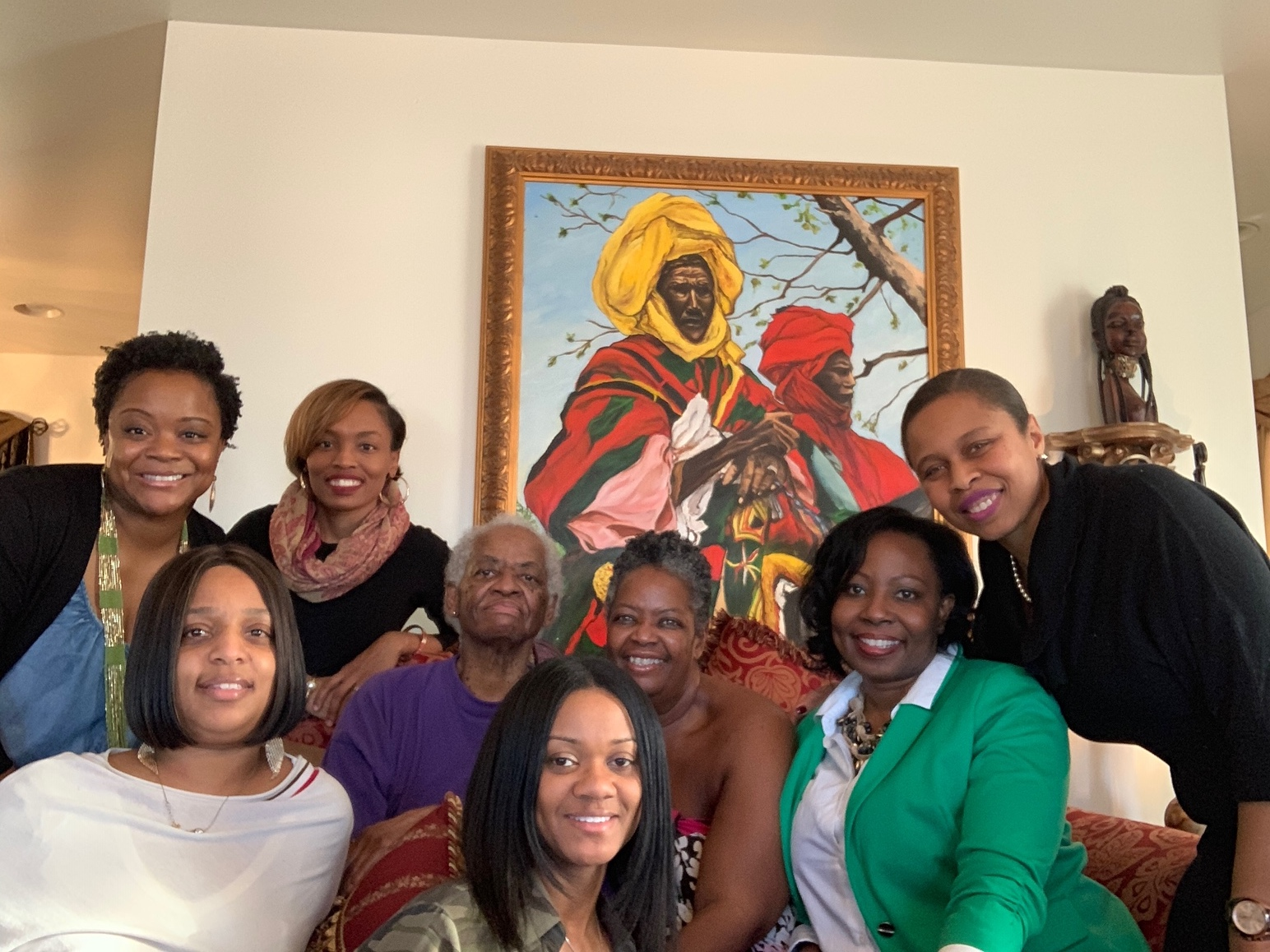 The Exceptional Women from Philly's Day Trip. THANK YOU, TOO!