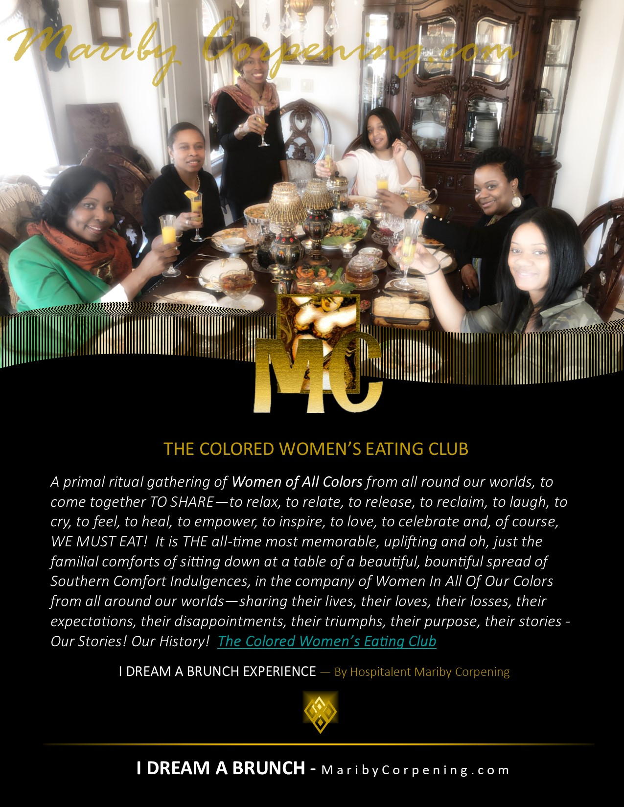 I DREAM A BRUNCH PROMO - The Colored Womens Eating Club - MaribyCorpening.jpg