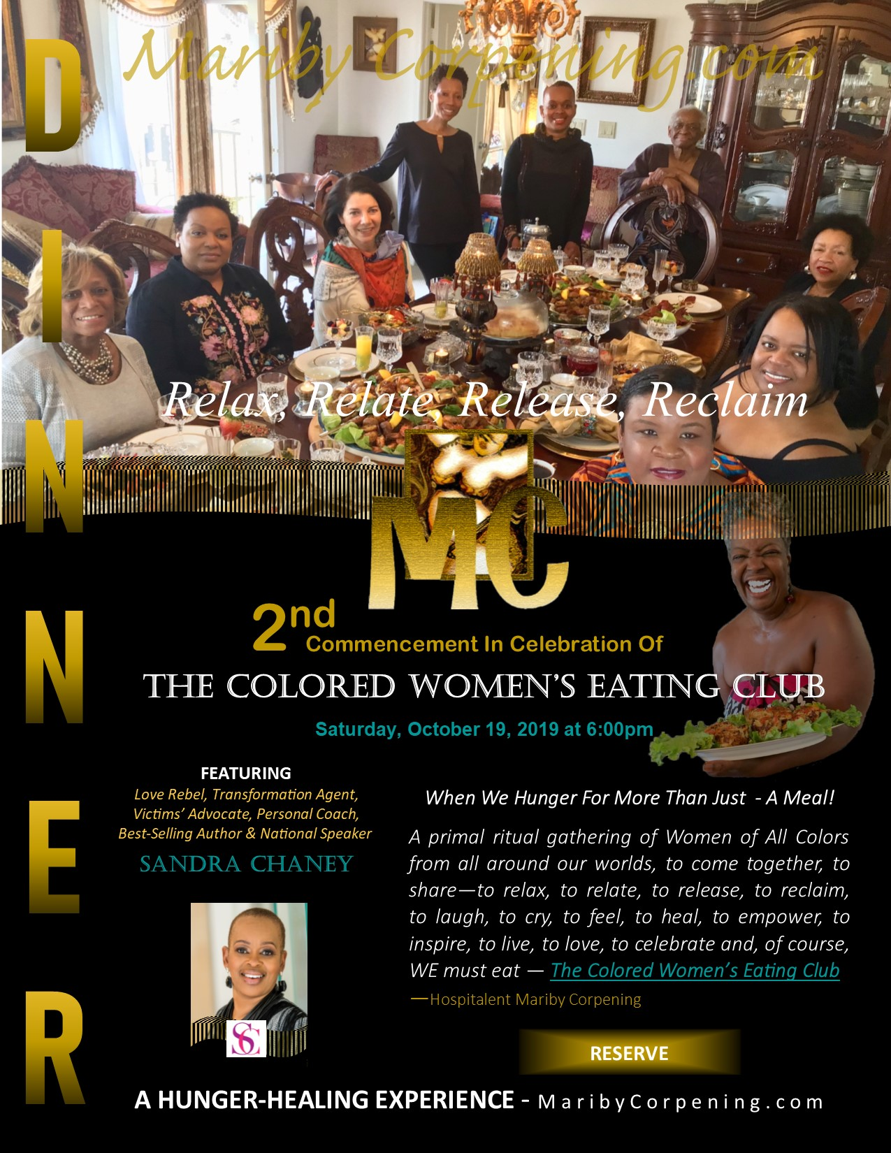 THE COLORED WOMENS EATING CLUB Flyer - 2nd - MaribyCorpening.jpg
