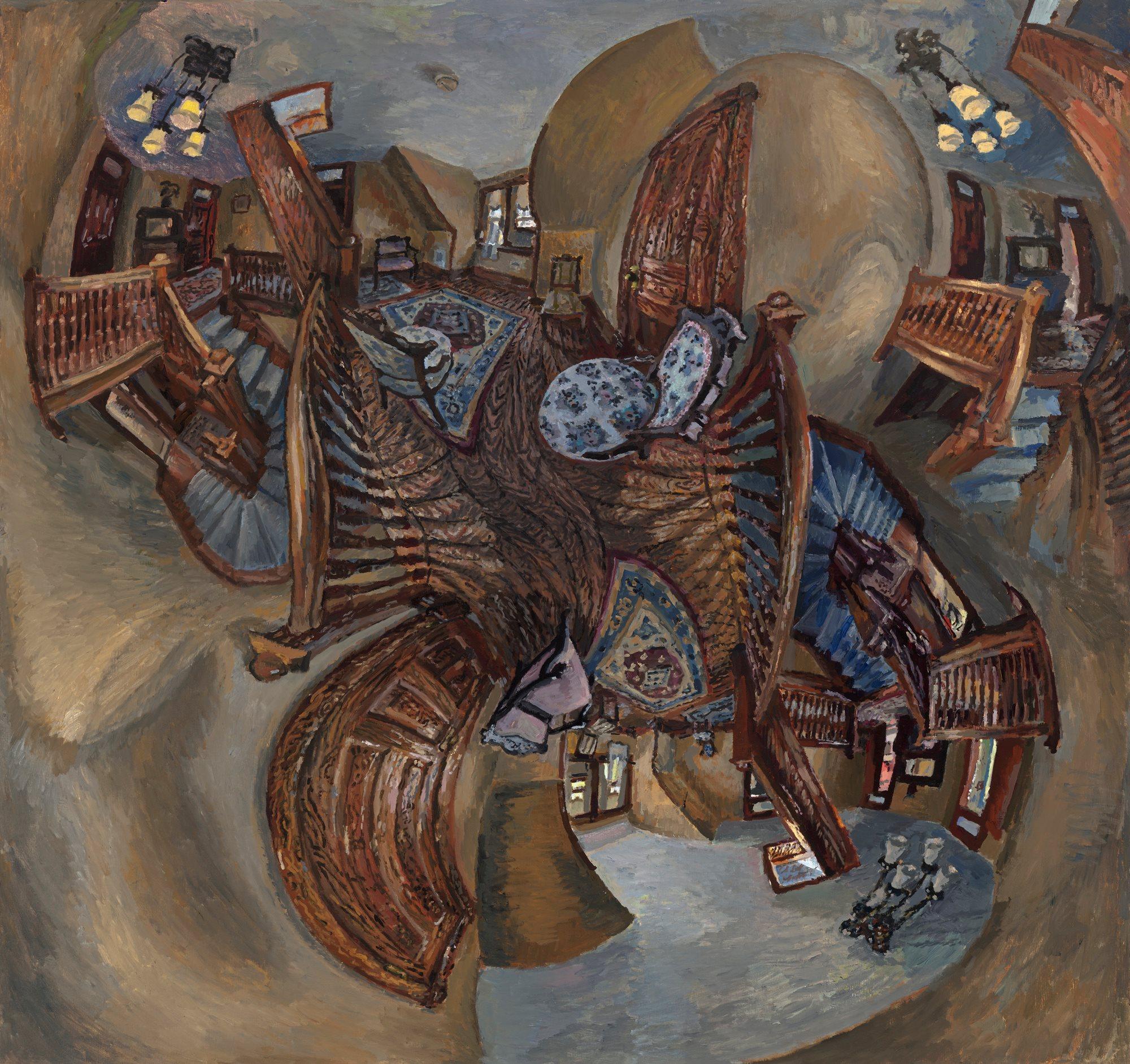 "Matthew Lopas, Baker House, 50""x60"", oil, 2012"