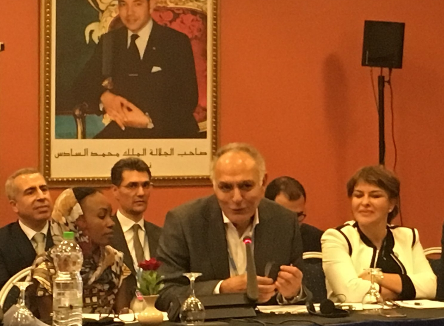 COP22 President Mr. Salaheddine Mezouar