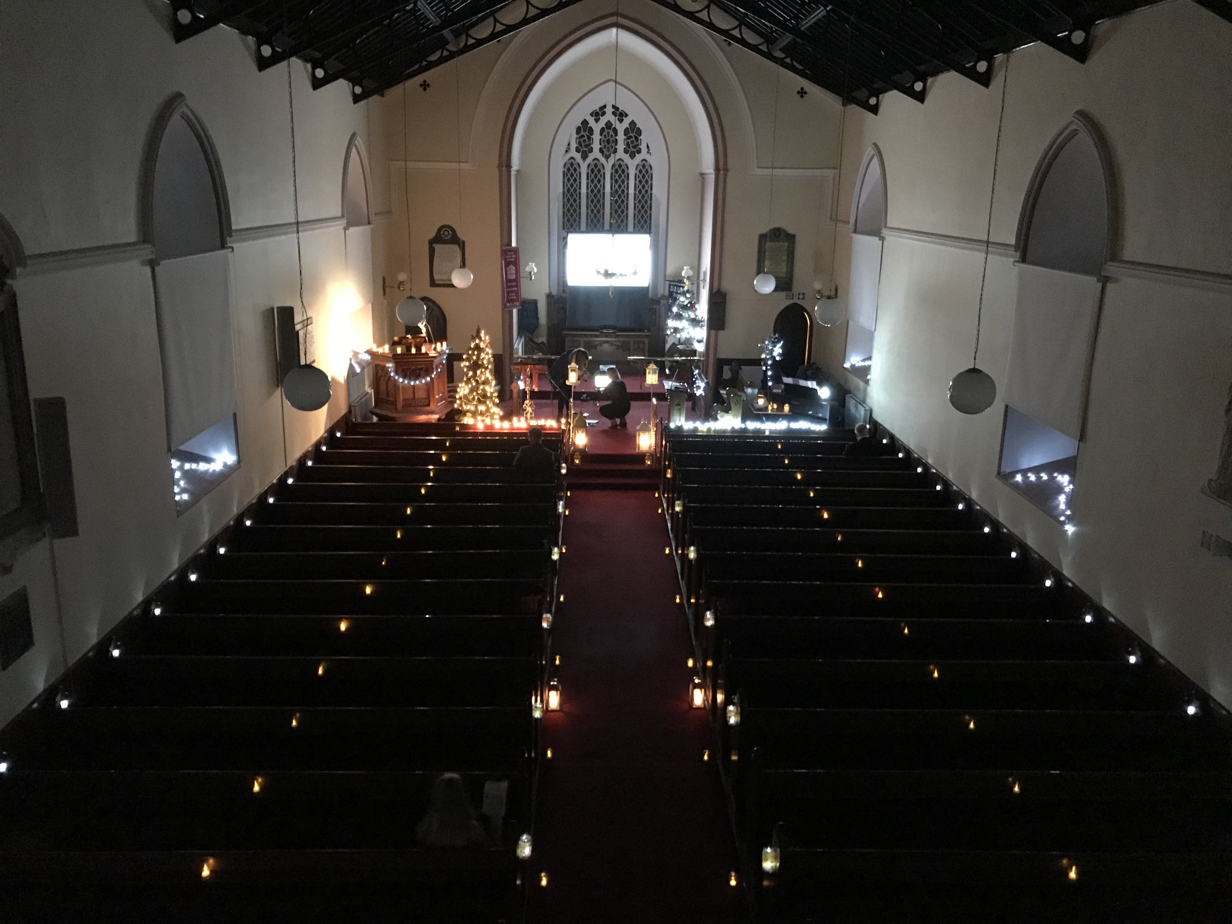 Drung Candle Service Church Cavan