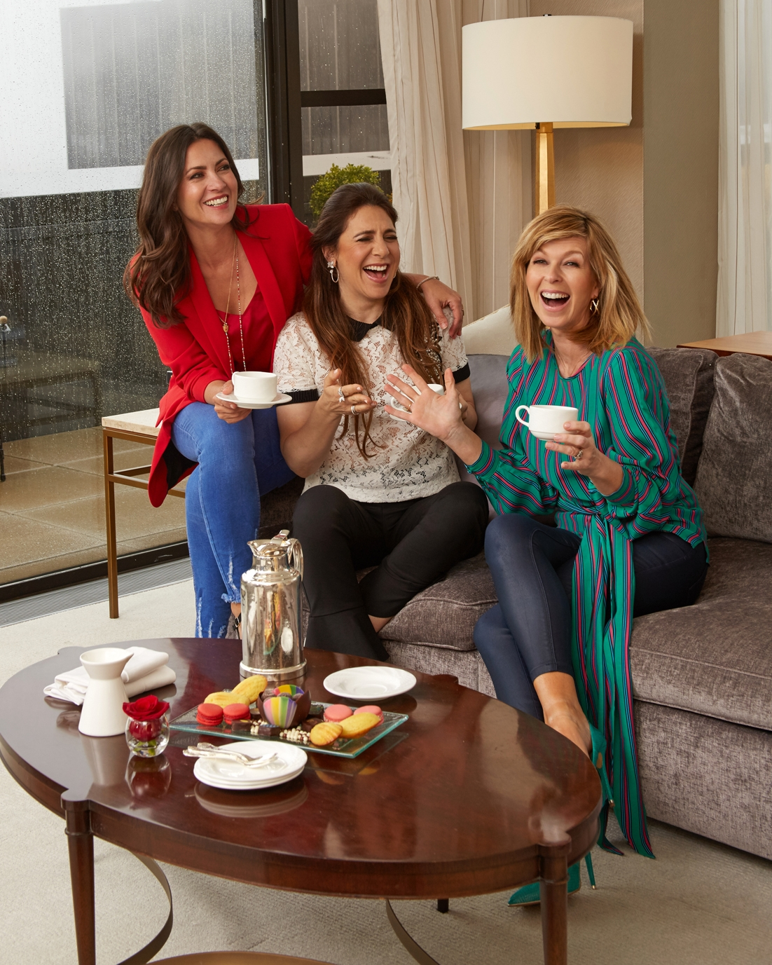 Clare Nasir, Carla Romano, Kate Garraway