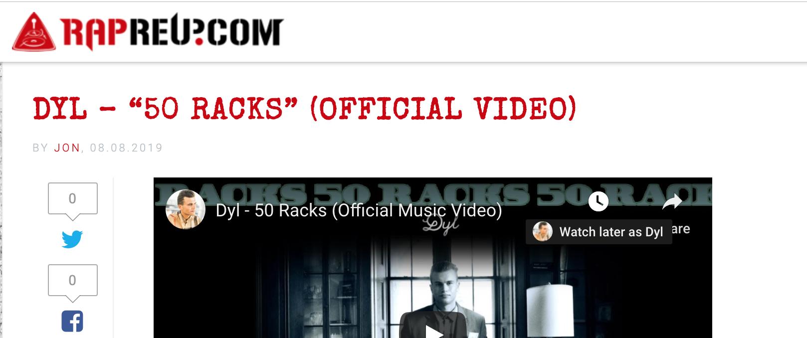 Dyl - 50 Racks Rap Reup