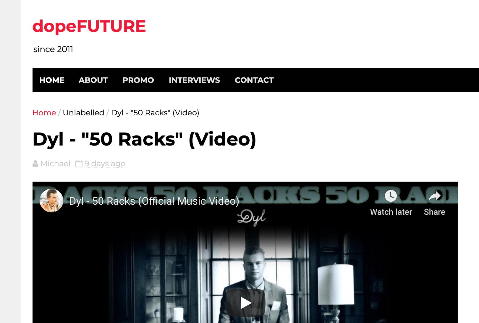 Dyl - 50 Racks DopeFuture