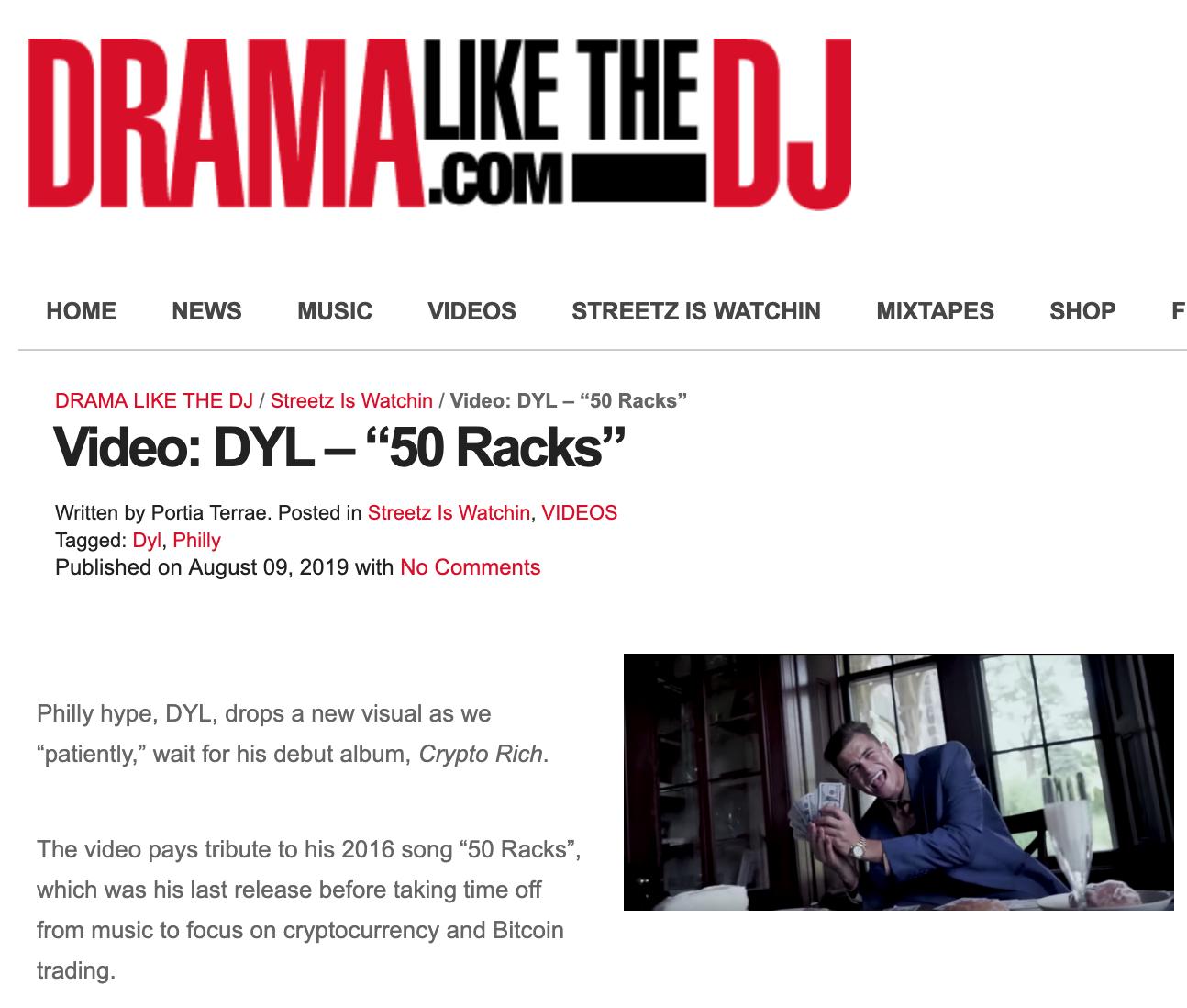 Dyl - 50 Racks DramaLikeTheDJ