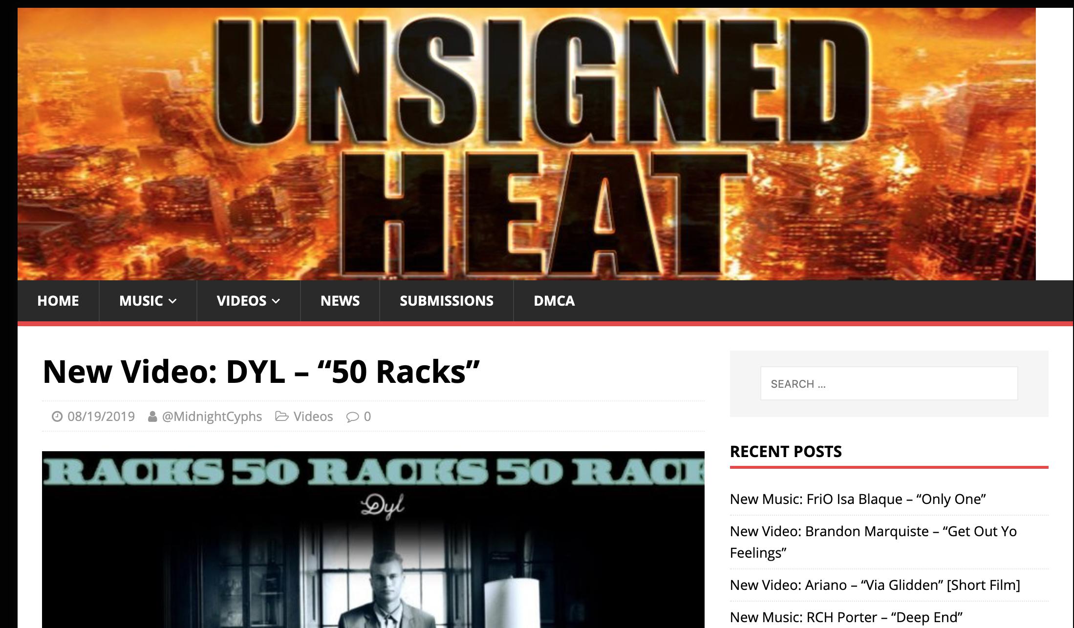 Dyl - 50 Racks Unsigned Heat