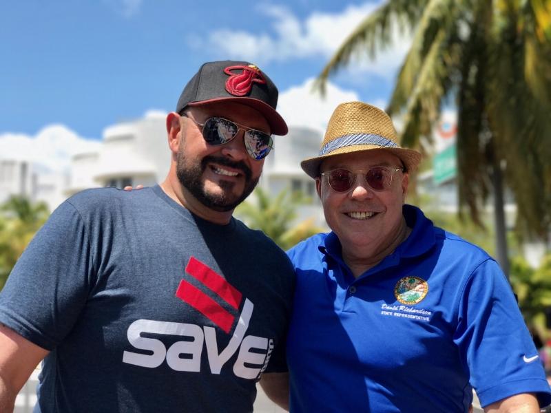 Tony Lima, Executive Director of SAVE & Representative David Richardson