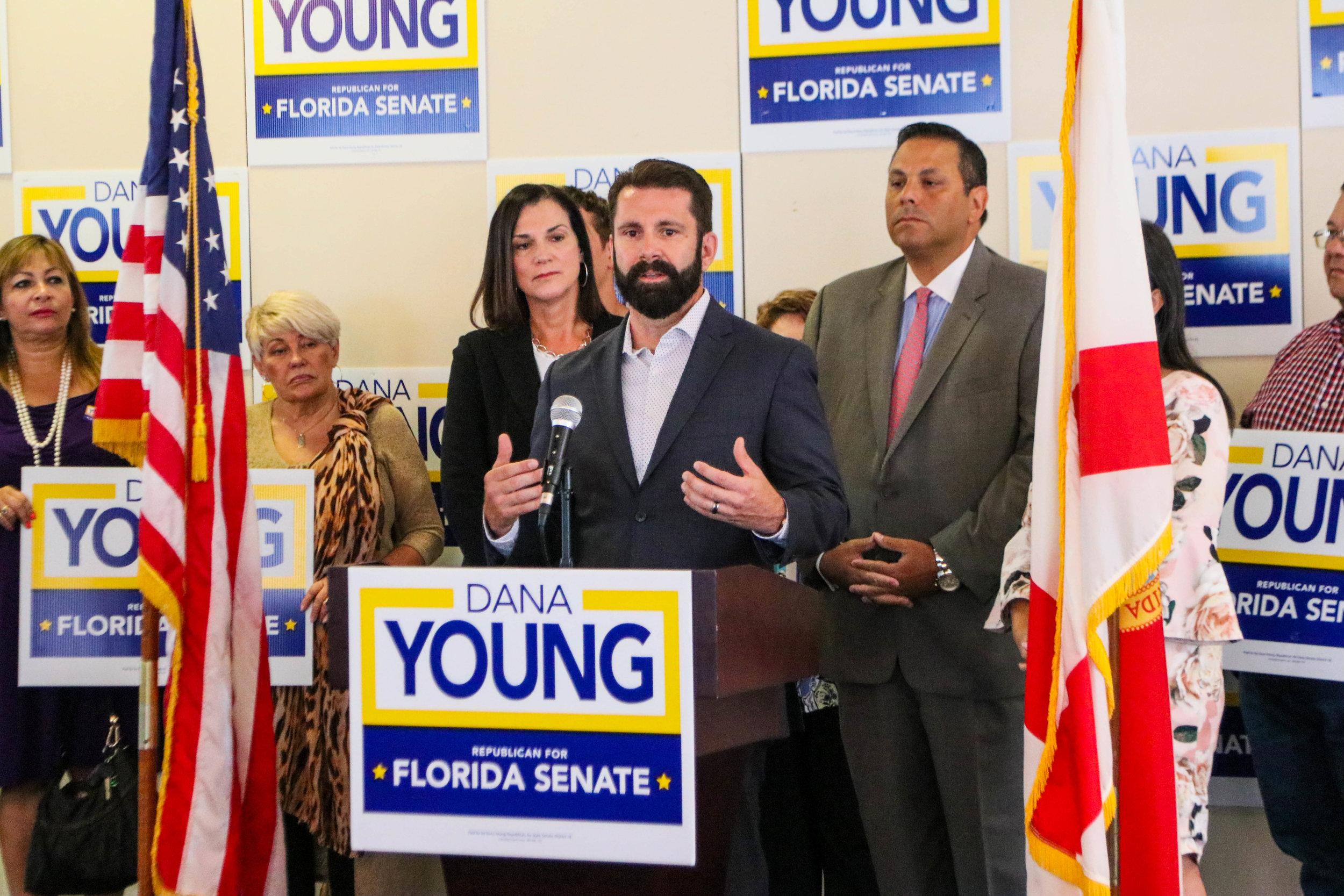 Florida St. Hispanic Chamber Endorses Sen. Dana Young (2018)