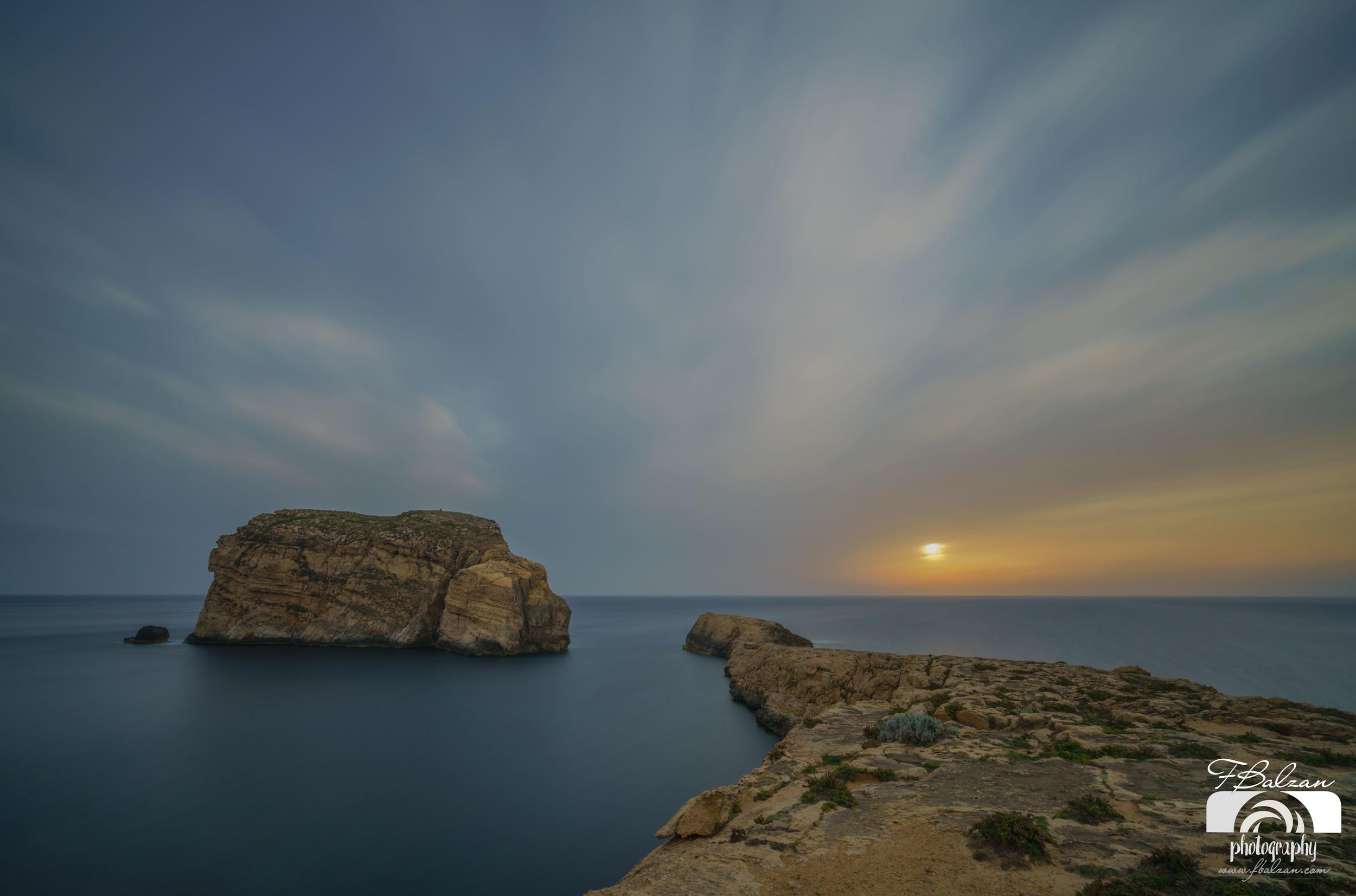 Fungus Rock, Dwejra Gozo sunset