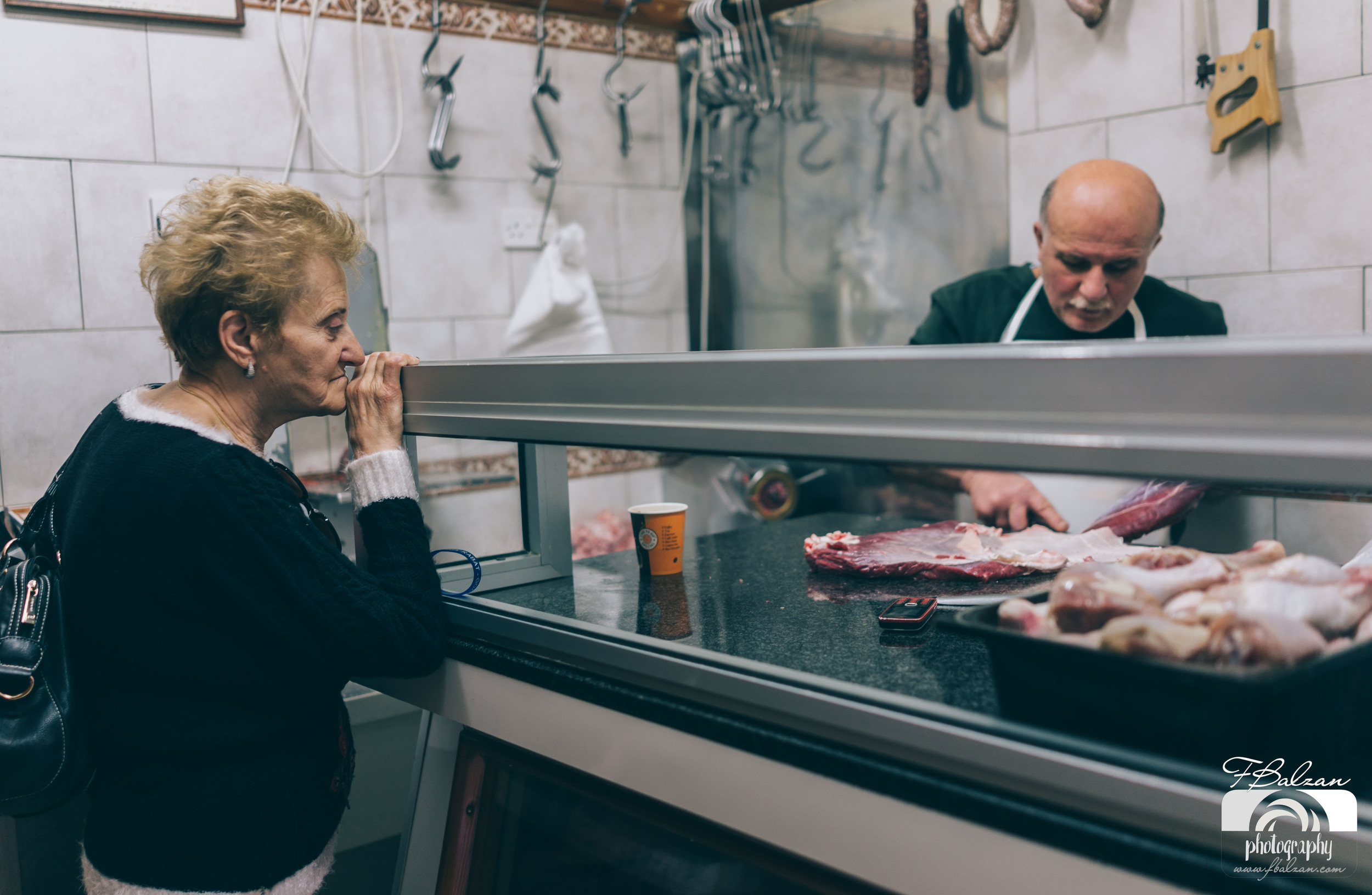 At the butcher - Gozo