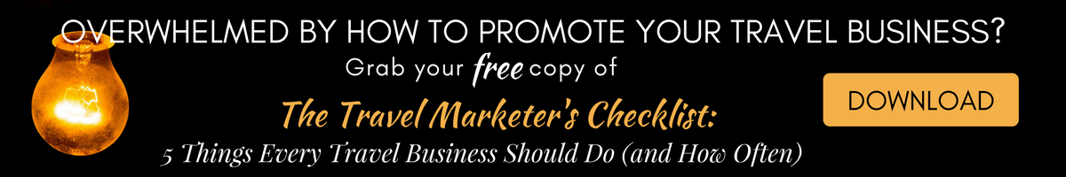 Travel Marketer's Checklist 45 Degrees Marketing