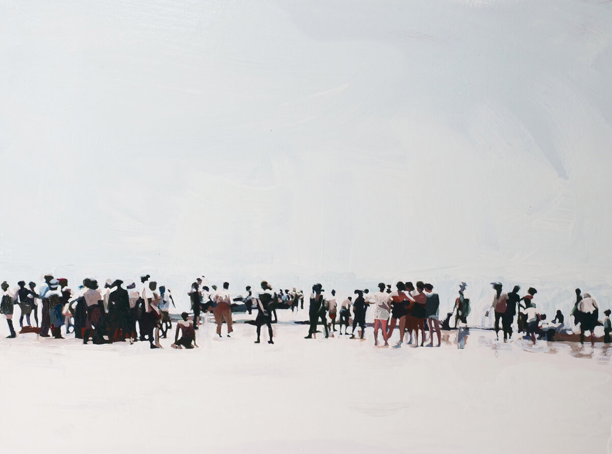 Gathering at the Shoreline