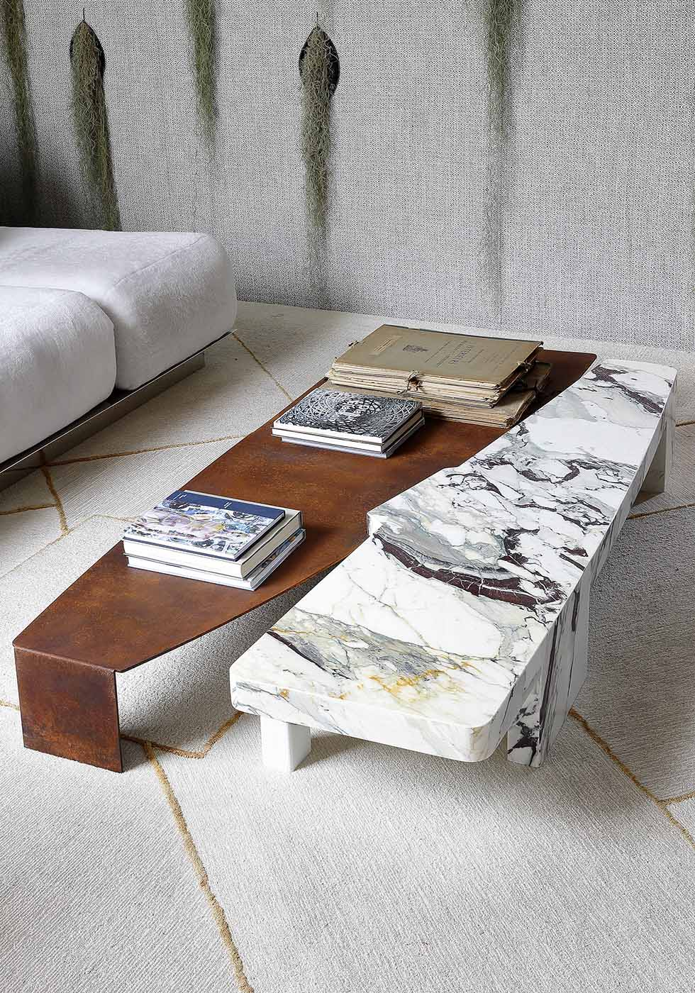 D-Block: Coffee table. Design by Bismut & Bismut.