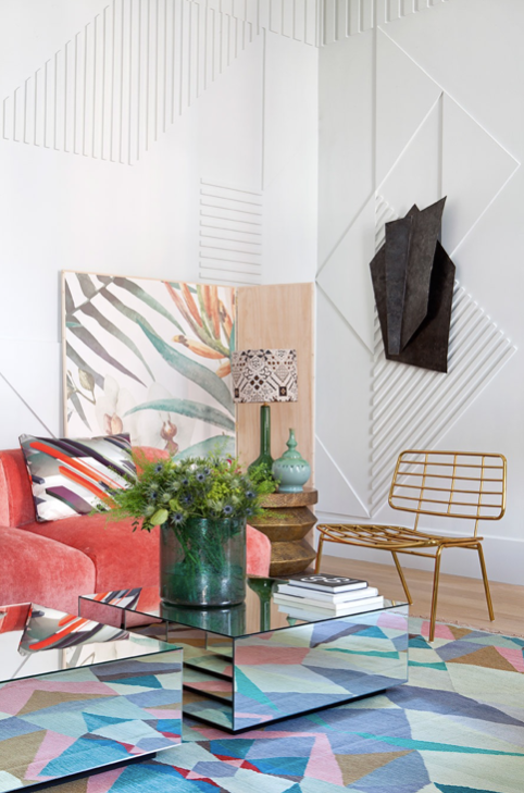 Interior by Erico Navazo in Madrid as seen in AD España issue July/August 2016./ Photo credit: D.R.