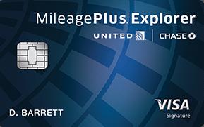 United Airlines Mileage Plus Card