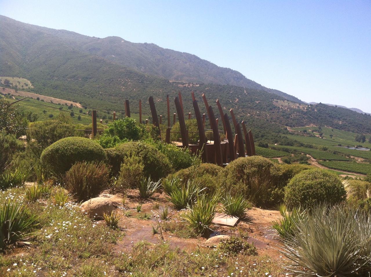 View of Clos Apalta Winery