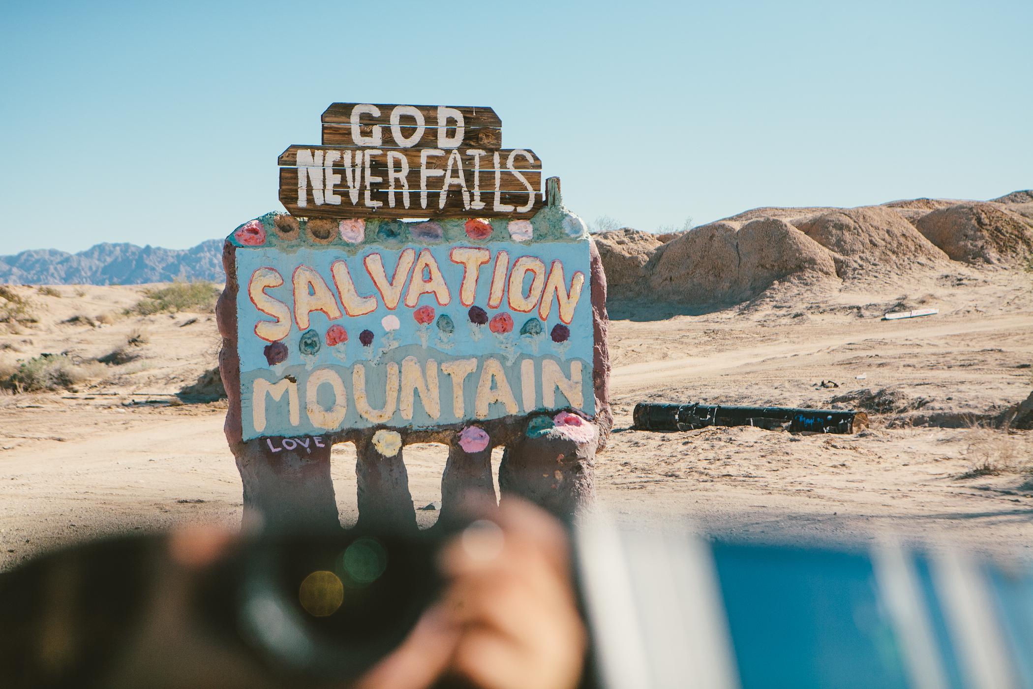 salvation mountain - niland, ca