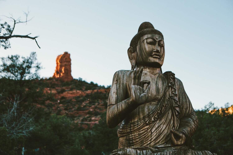 amitabha stupa - sedona, az