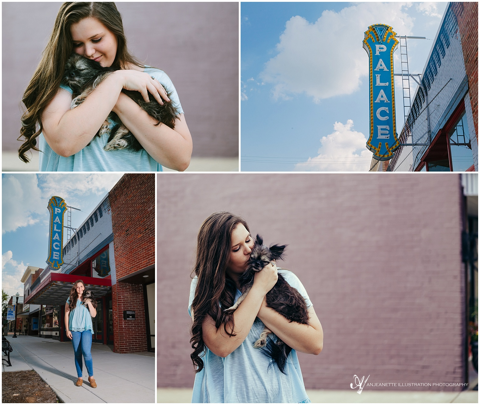Hendersonville Tn Senior Pictures by Photographer Anjeanette Illustration Photography
