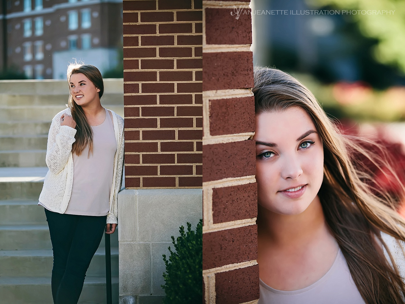 Senior Photos in Hendersonville Tn by Artistic Senior Picture Photographer Anjeanette Illustration Photography