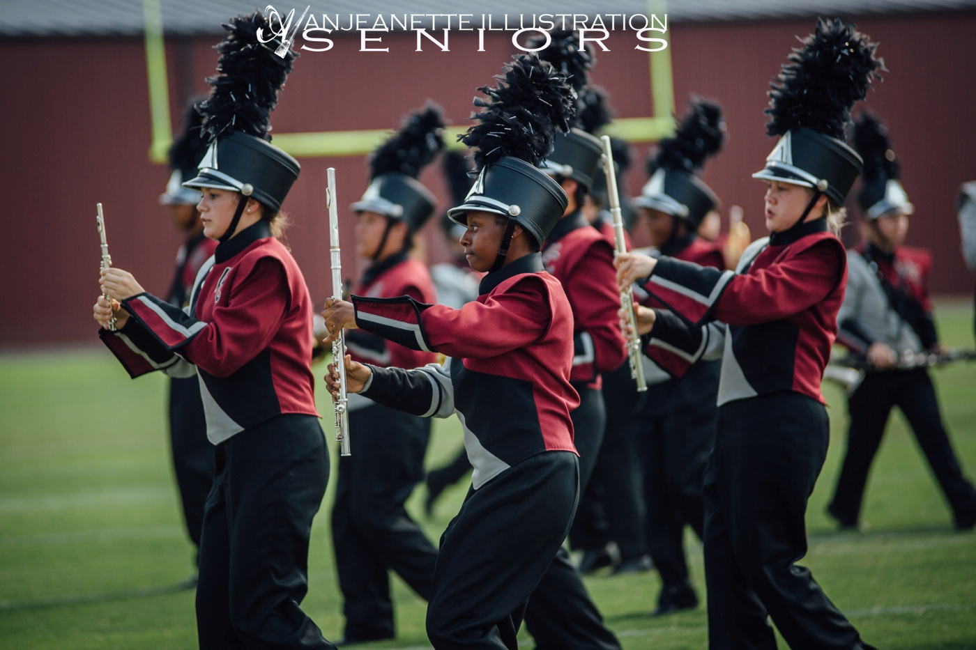 tennessee senior portraits anjeanette illustration hendersonville tn marching band invitational pictures station camp