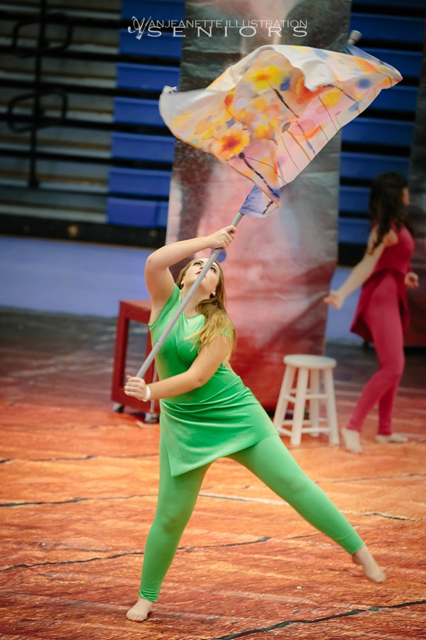 hendersonville tn senior photographer winter guard photos sumner county station camp wgi regional