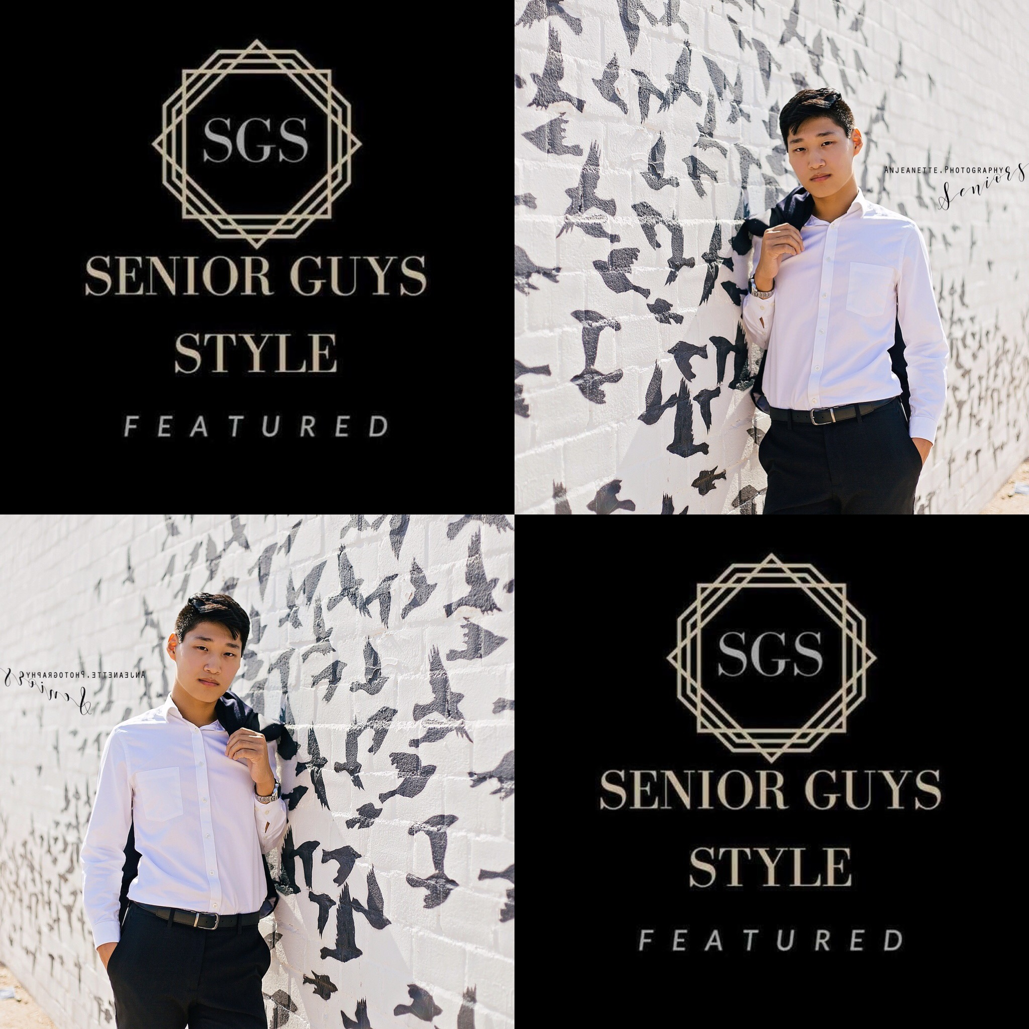 Featured in Senior Guys Style!