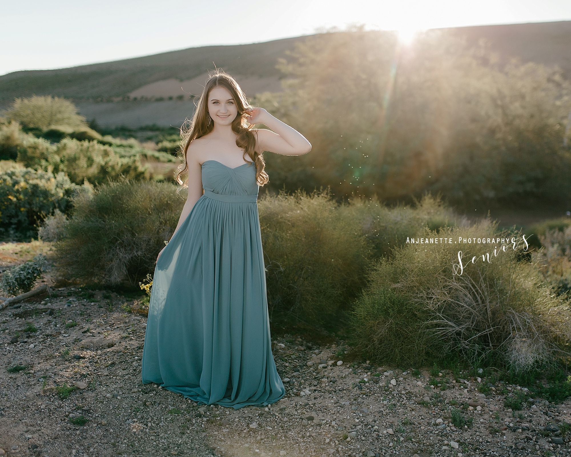Arizona prom dress pageant Peoria Az Anthem Glendale Az beauty portrait photographer Anjeanette Photography Phoenix Evening Gown Photogenic model scottsdale