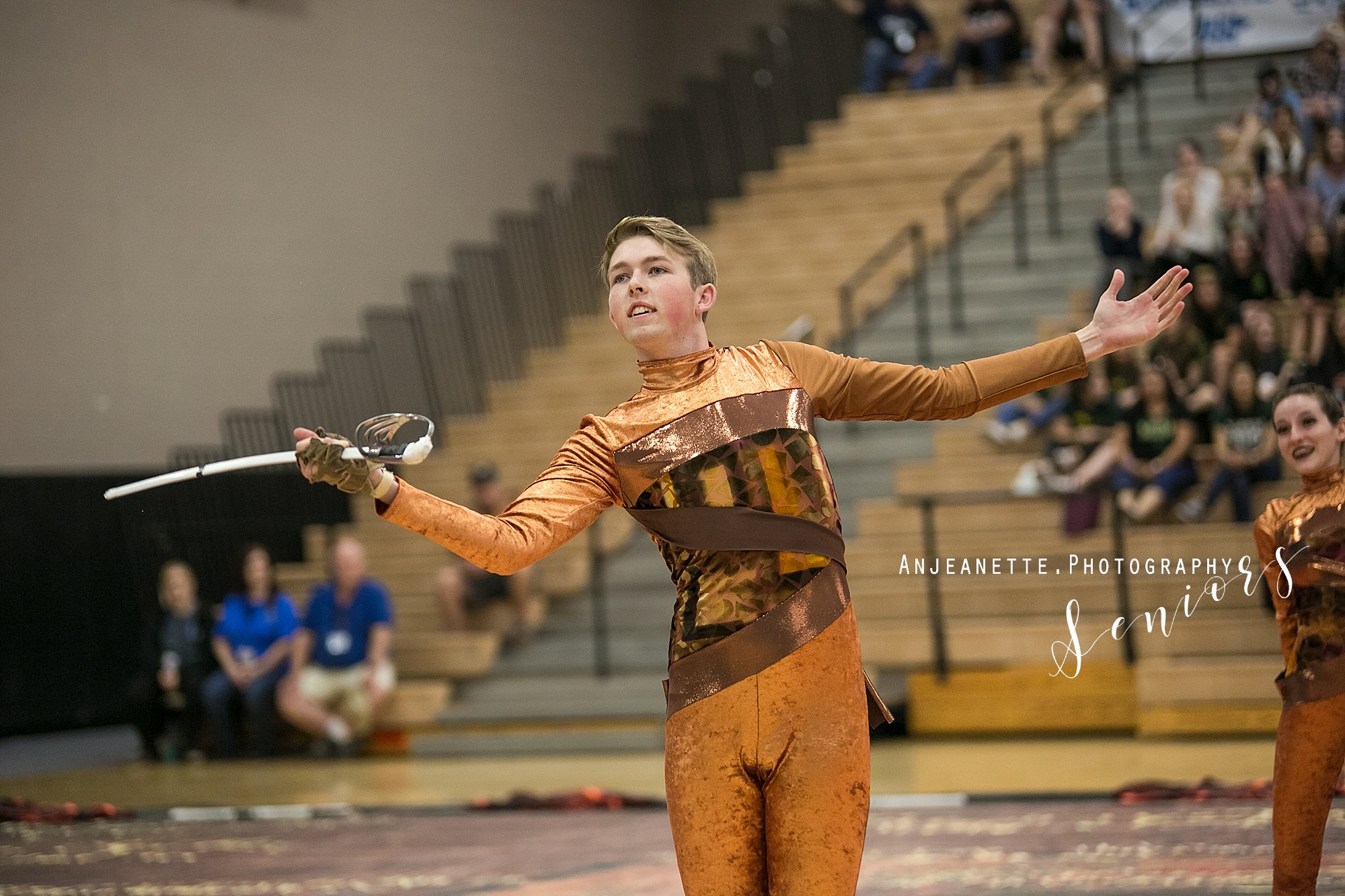 Arizona marching band color guard Peoria Az winterguard DCI drum corps WGI  portrait photographer Anjeanette Photography tempe desert vista