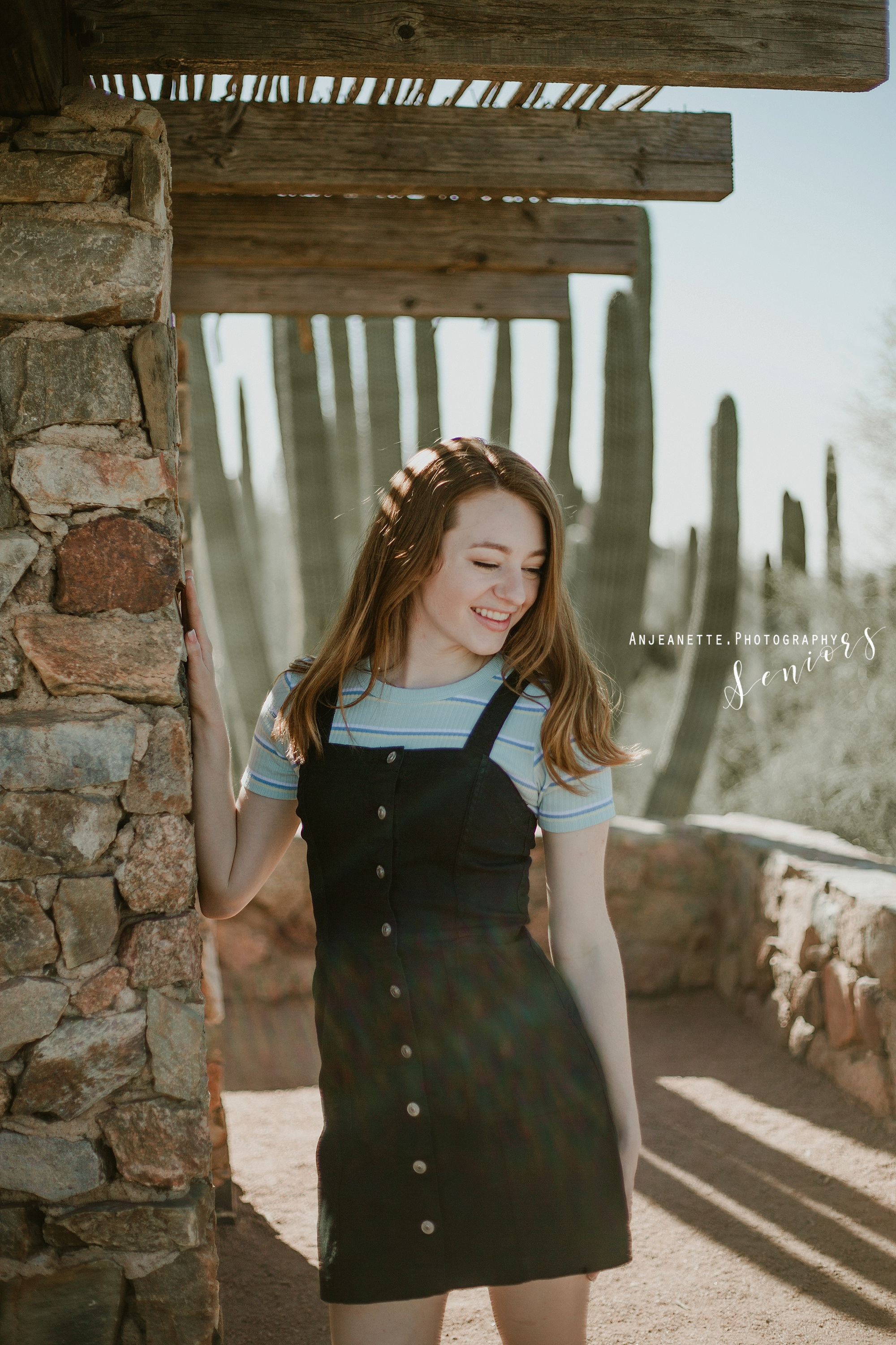 Places to take senior graduation pictures Sandra Day O'Connor High School Phoenix Peoria Az Anthem high school portraits grad photographer Anjeanette Photography Phx Arizona