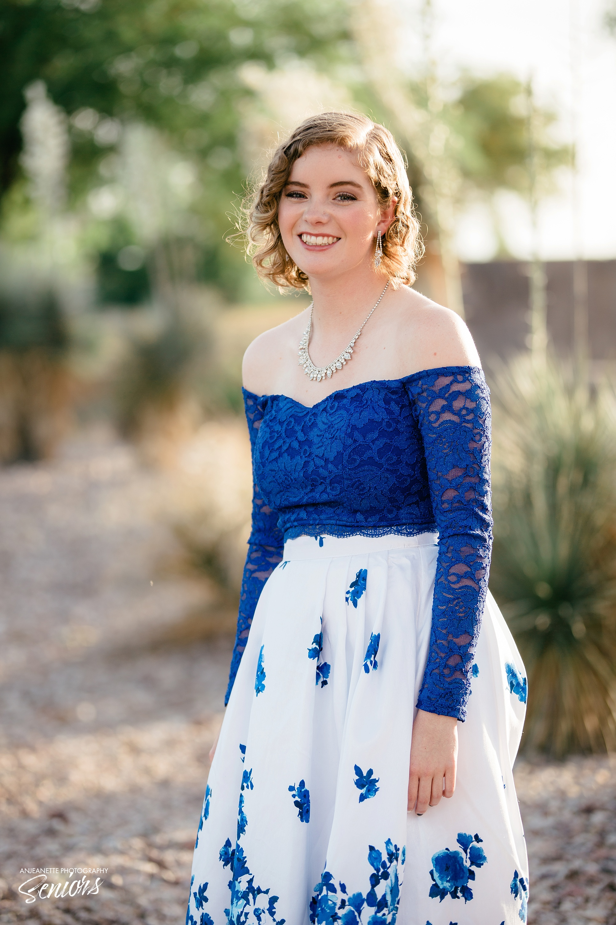 best Places to take senior graduation pictures Sandra Day O'Connor High School Phoenix Peoria Az Anthem high school portraits grad photographer Anjeanette Photography XCP Phx Arizona