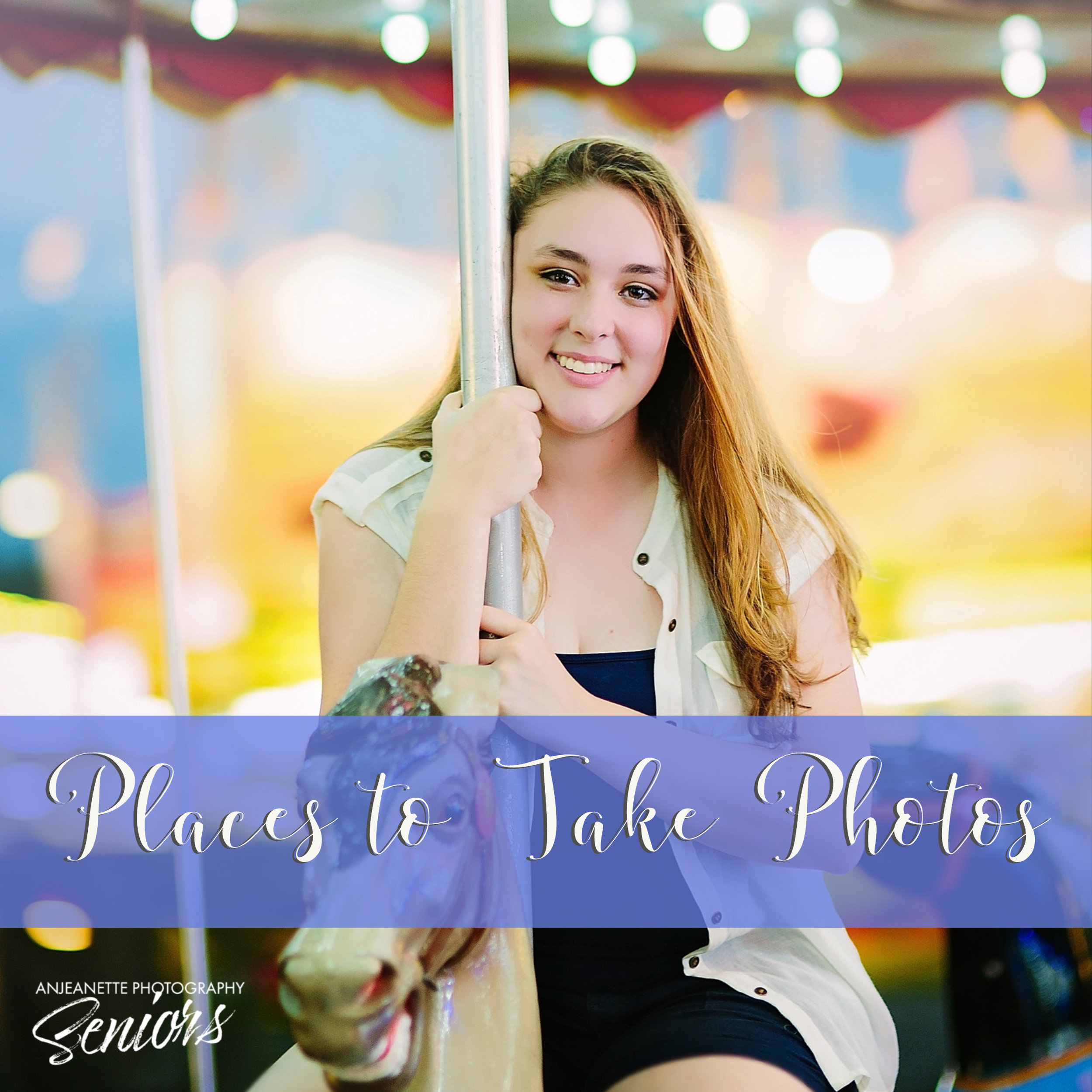 best Places to take senior graduation pictures Sandra Day O'Connor High School Phoenix Peoria Az Anthem high school portraits grad photographer Anjeanette Photography Phx Arizona