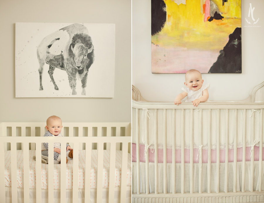 Will Benton on the left, and his big sister Ellen on the right from her six month session a few years ago. :)