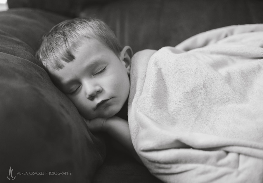 (I just had to get this picture of Esau, who looked so peaceful taking a nap on the couch when I was about to leave. So sweet!)